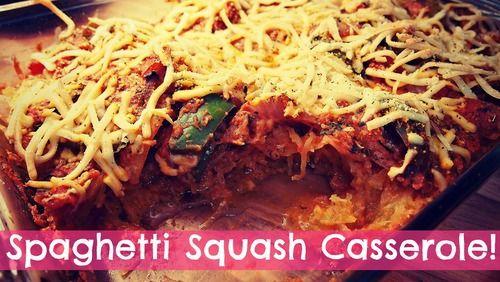 Spaghetti Squash Casserole!