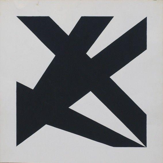 Peter Struycken, Ontwerptekening, 1963, 50 x 50 cm
