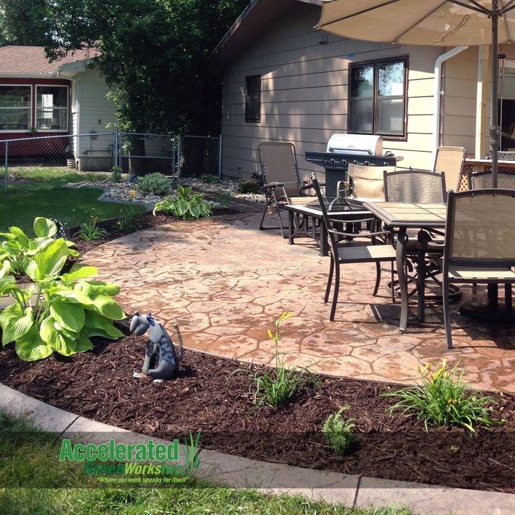 Mink mulch is a dark brown variety of wood mulch that is for High end landscape design