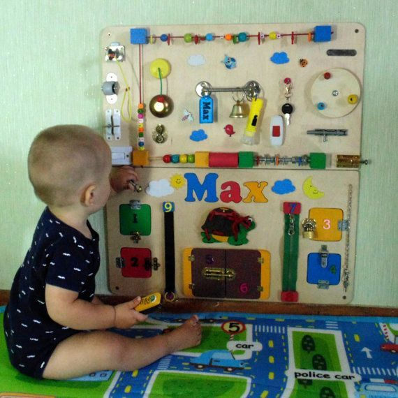 Aktivitätsboard beschäftigt Board Sensory Board Montessori
