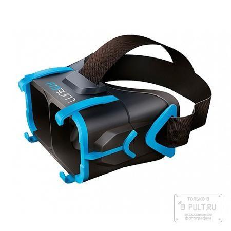 Fibrum Combo Pack  — 8490 руб. —  Fibrum — шлем виртуальной реальности для смартфона, позволяющий игроку испытать массу захватывающих ощущений в любом месте и в любое время.  Конструкция устройства невероятно проста, в ее основе лежит пластиковый каркас с встроенными HD-линзами, внутрь которого помещается смартфон. Диагональ экрана при этом должна составлять от 4 до 6 дюймов. Крепление телефона осуществляется с помощью особых зажимов. Управление осуществляется как посредством фокусировки…