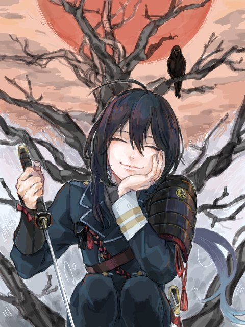 Namazuo is so pretty~ I can't exactly tell if he's supposed to be a seme or an uke though, because fujoshi to the bone.