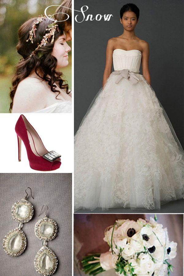 55 Best Snow White Wedding Images On Pinterest