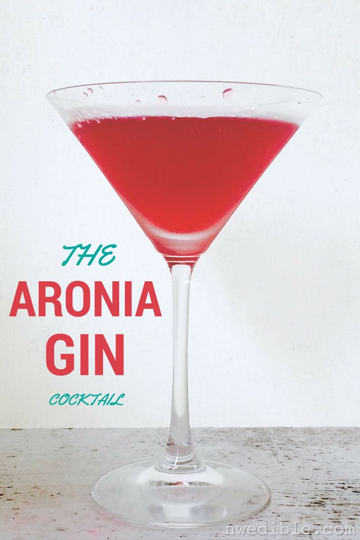 """This one's a keeper. What should we call it?"" I asked my husband after our initial tasting of this shockingly pink cocktail, a classic gin-and-citrus shakeup made interesting with aronia berry sim..."