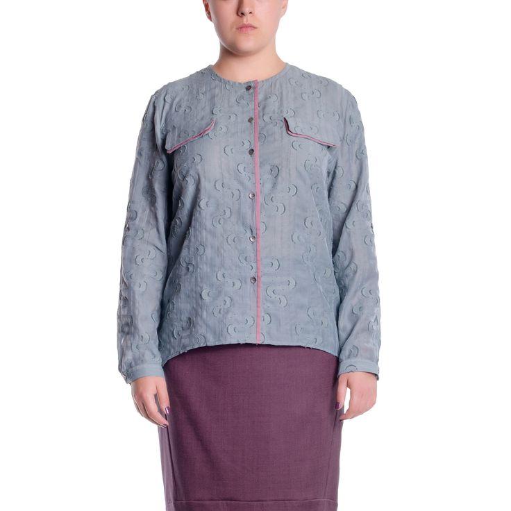Блуза женская большого размера купить в интернет магазине женской одежды Victoria de Soie с доставкой по России, Украине, СНГ. +38(050)777-42-44