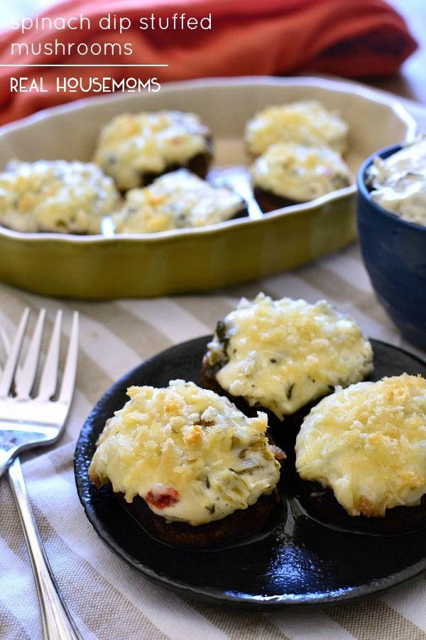... Dip Stuffed Mushrooms | Recipe | Olives, Classic and Stuffed mushrooms