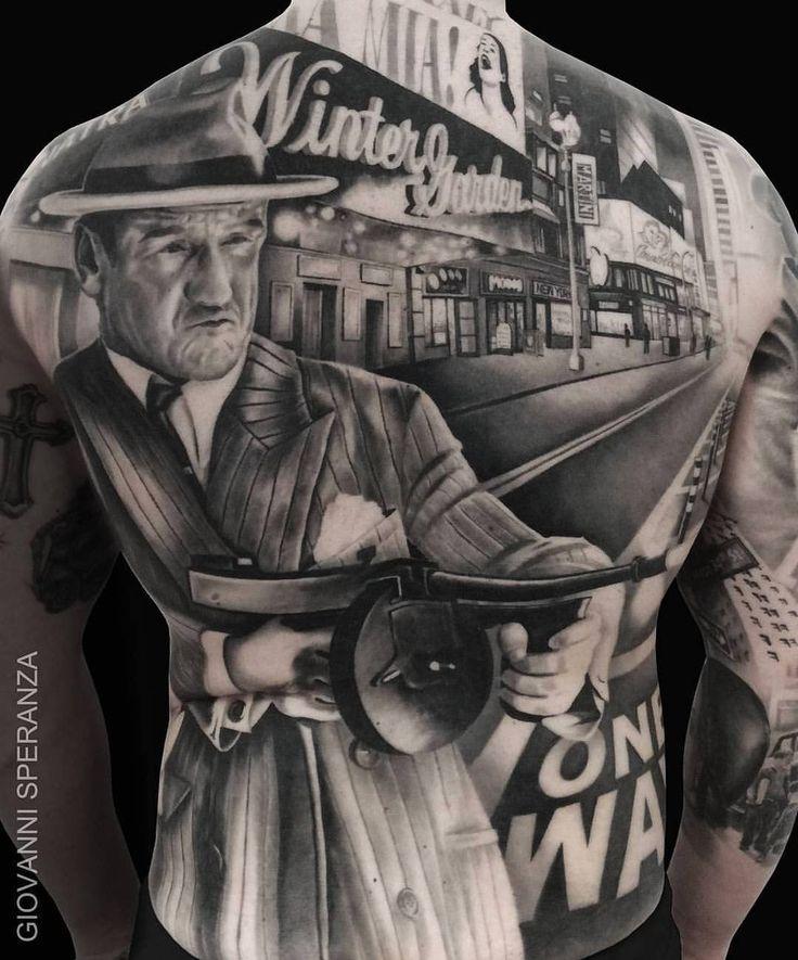 An absolute bloody masterpiece @speranzatatuaggi ☠ ' ' ' ' ' ' ' #tattoo #tattoos #tattooed #tatted #tats #tattooing #tattooartist #ink #inked #draw #video #paint #painting #art #artist #beautiful #body #bodysuit #religion #amazing #sunsoutgunsout #40s #picoftheday #chicago #shading #mob #tattooedboys #gangster #bestoftheday #scene