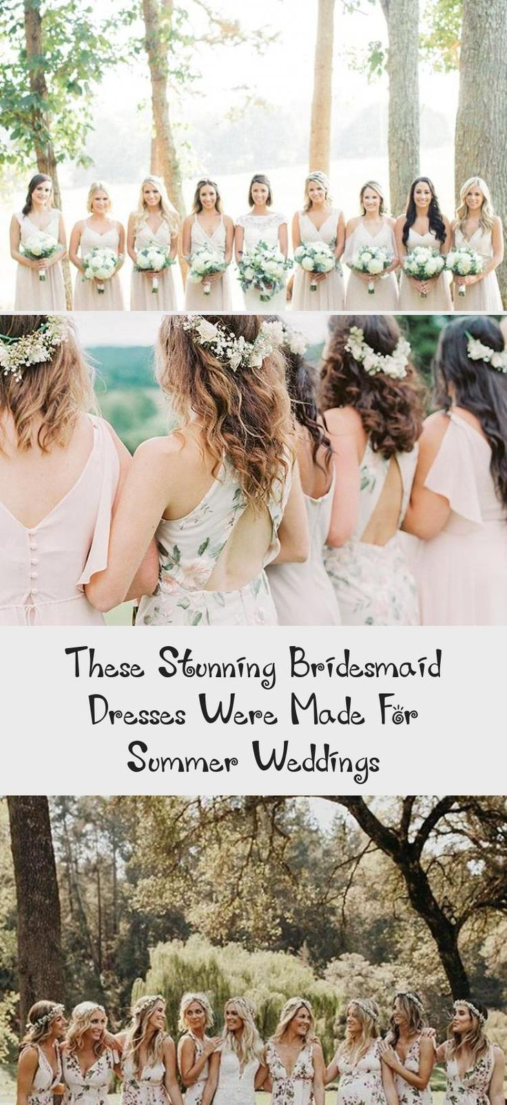 The Most Stunning Summer Bridesmaid Dresses Of 2018 #WeddingBridesmaidDresses #CheapBridesmaidDresses #UniqueBridesmaidDresses #BridesmaidDressesStyles #MixAndMatchBridesmaidDresses
