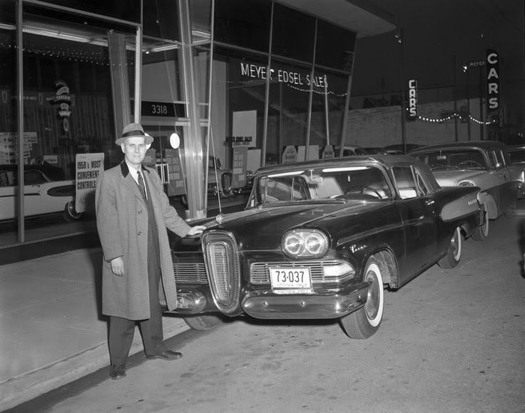 Old Classic Cars >> Meyer Edsel, Richmond, VA, 1958. Wagons in vintage Street ...