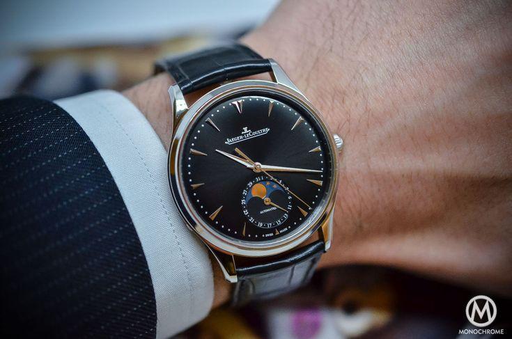 Jaeger-Lecoultre Master Ultra Thin Moon 39 black dial SIHH 2015 - 7