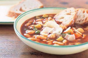 Рецепт супа минестроне с чичевицей