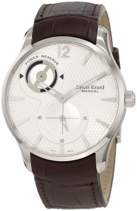 SPECIAL OFFER! Louis Erard Men's 53209AS01.BDC27 1931 Brown Power Reserve Leather Watch You can save 76% ($3,000.01) on this beautiful watch! #louiserard