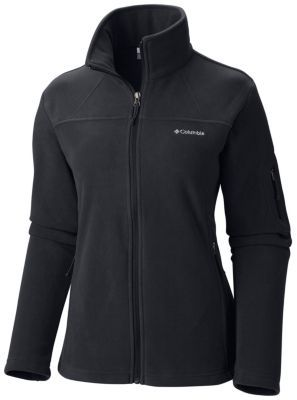 Women's Fast Trek™ II Full Zip Fleece Jacket black Columbia $37.50