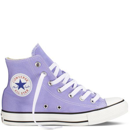 Converse - Chuck Taylor Fresh Colors - Hi - Radio Blue on Wanelo
