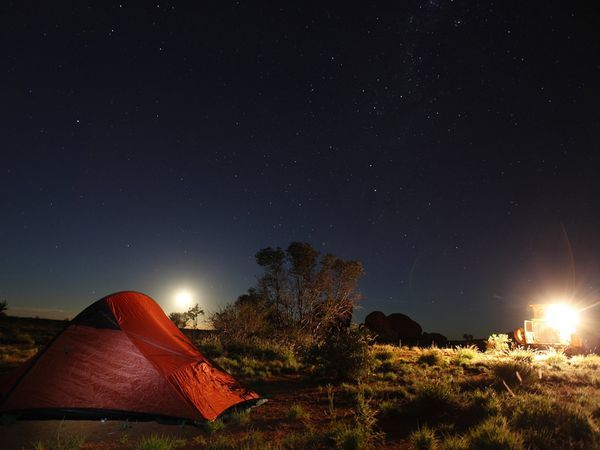 Outback camping