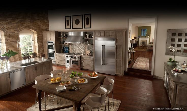 love this kitchen! jennair.com