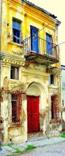 eski rum evi...