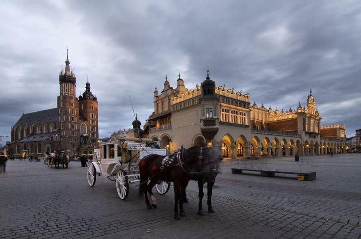 Cidade Velha, Cracóvia, Polônia.