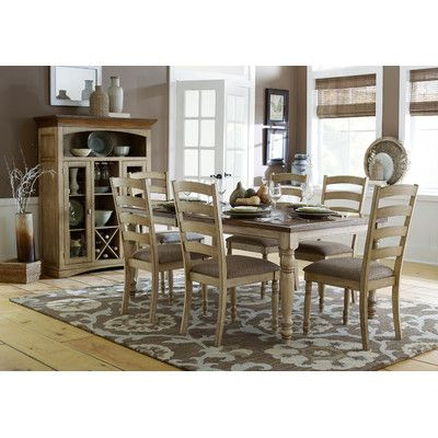 Homelegance Nash Expandable Dining Table Set