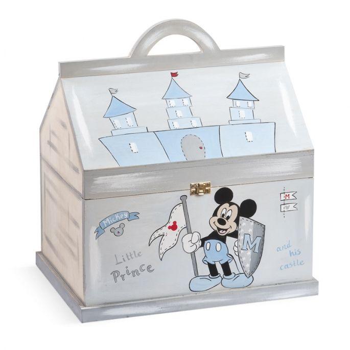 Κουτί Βάπτισης Mickey Prince - ΠΑΡΙΣΗΣ | Είδη γάμου & βάπτισης