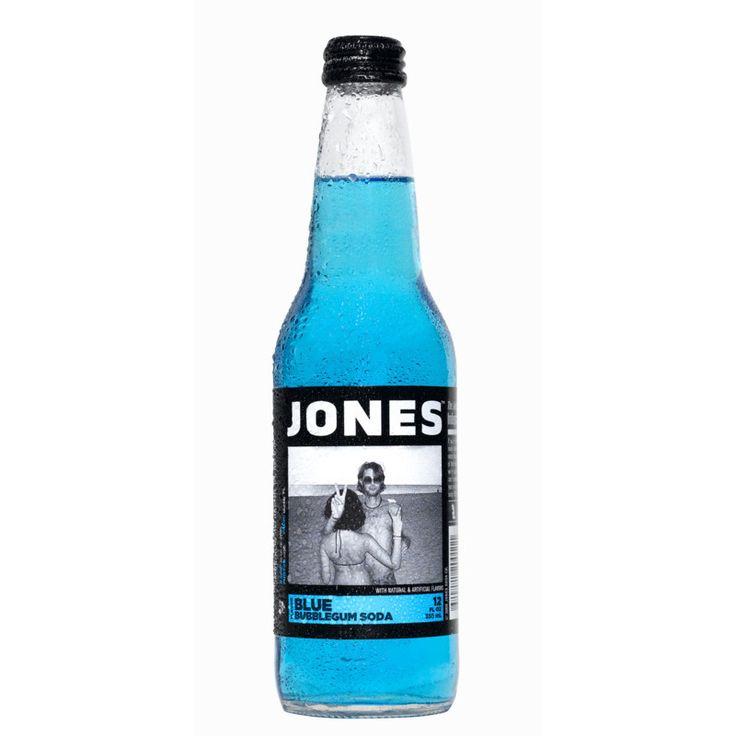 Jones Soda Bubblegum Pure Cane Soda