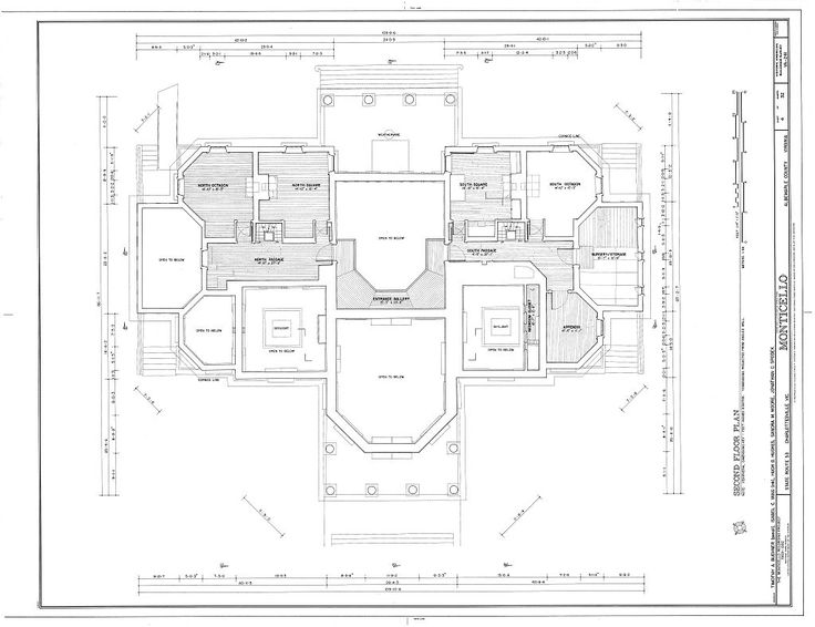 194 best Historic House Plans images on Pinterest | Floor plans ...