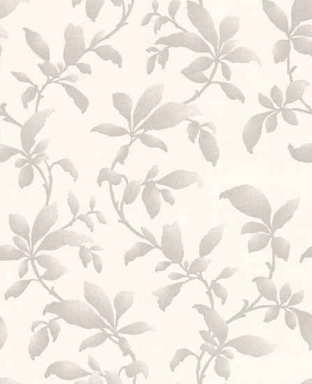19601 Premier Vinyl Sarra Grey,White Trail Wallpaper | Graham & Brown