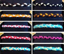 Friendship bracelet designs by FmDigitalDesign