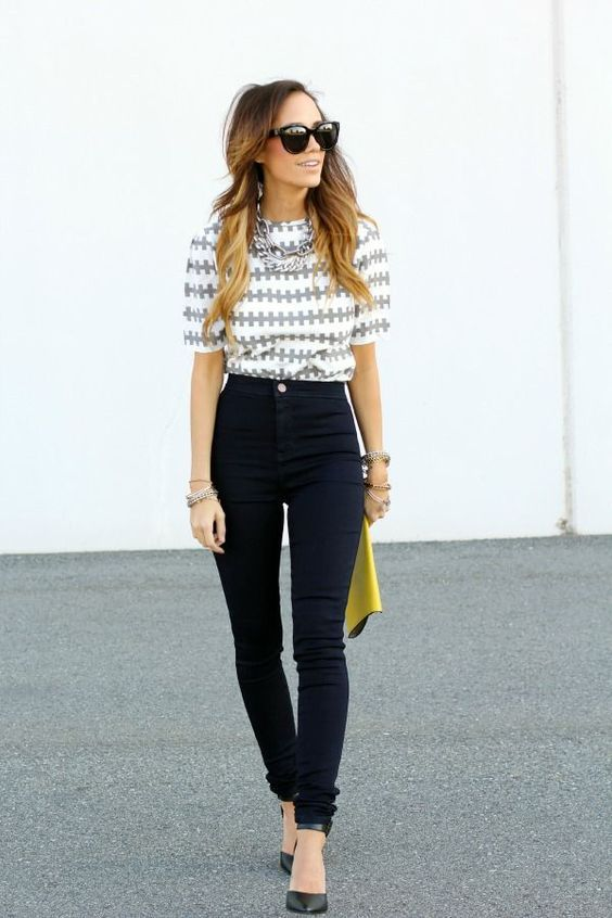 How to Wear High Waisted Jeans In Style - Page 5 of 5 - Trend To Wear