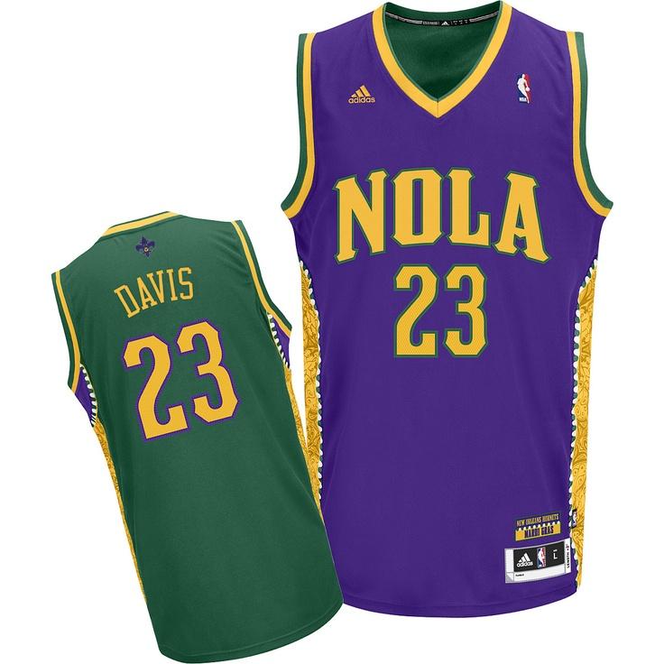 buy online 4c4a5 dfd59 nba jerseys new orleans hornets 23 anthony davis green jerseys