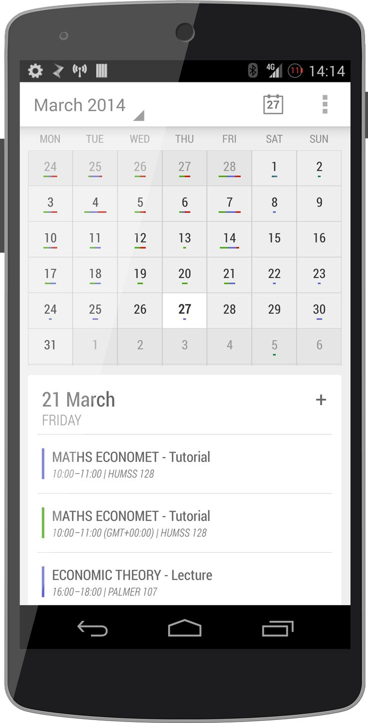 Stock calendar redesign - Imgur