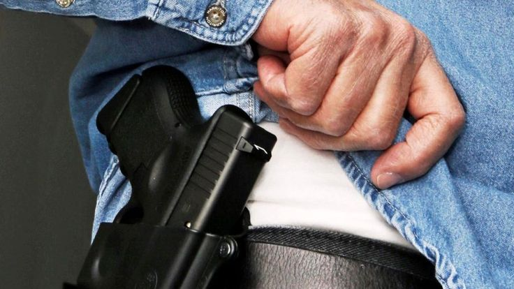 New Texas gun control law allows concealed guns on campus - BBC News