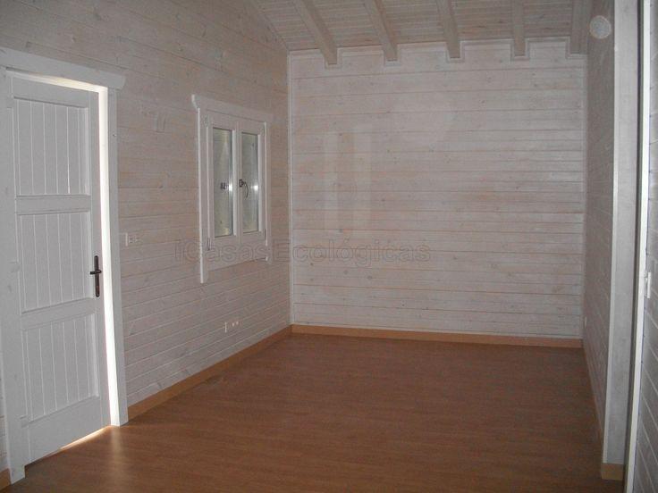1000 ideas sobre paredes de madera pintada en pinterest - Pintar paredes blancas ...