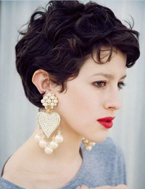 30 Easy Short Hairstyles for Thick Wavy Hair - Cool & Trendy Short Hairstyles 2014