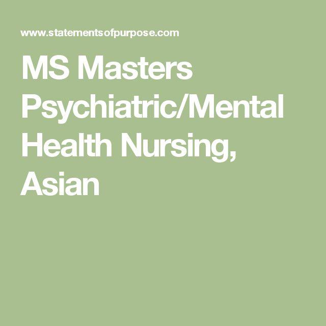 39 best grad school images on Pinterest Gym, Personal statements - mental health nurse resume
