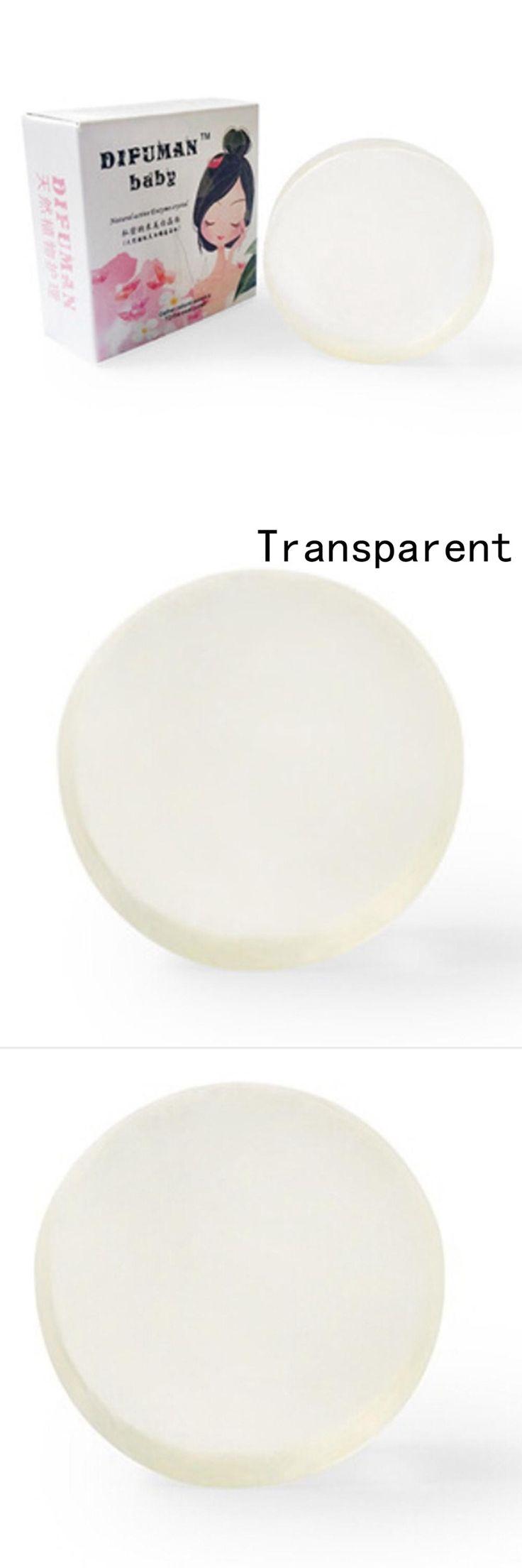 New 1PCS Natural active enzyme crystal skin whitening soap body skin whitening Handmade Soap