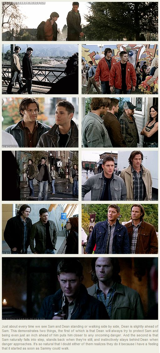 [gif-set] I think this shows just how well Jared and Jensen (as well as the directors) understand these two characters.