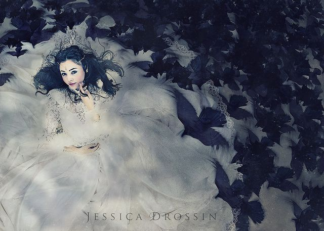 Dark Fairy Tales and Snow Queens by {jessica drossin}, via Flickr