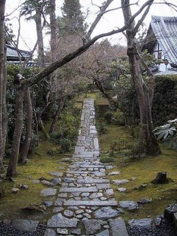 30+ Awesome Small Garden Ideas With Stone Path Garden