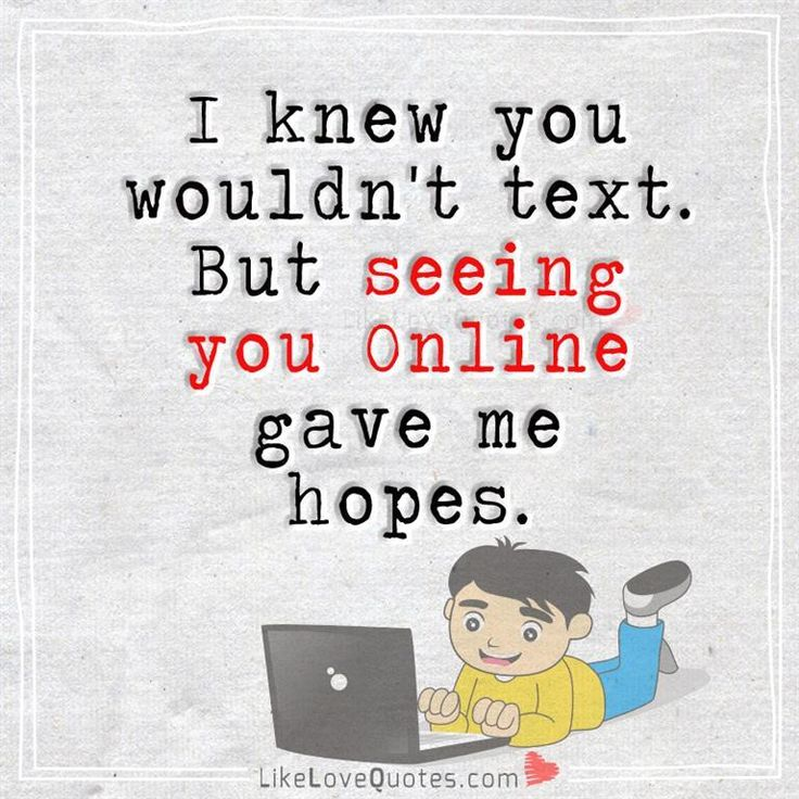 Expectations always hurt..
