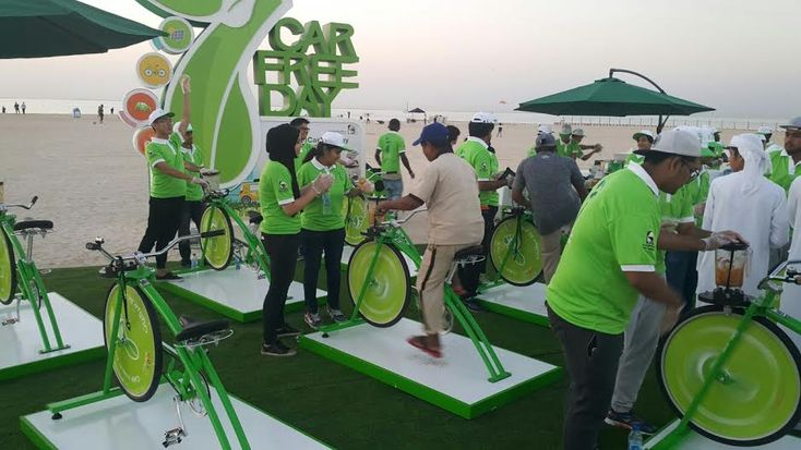 Dubai Car-free Day, encouraged for Less Carbon Emission