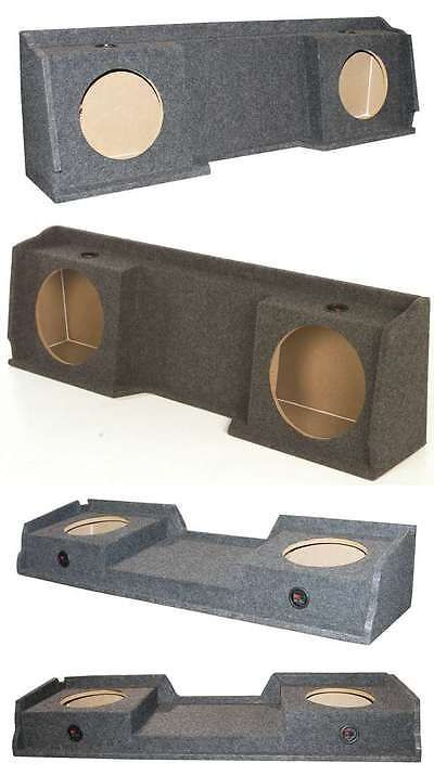 Speaker Sub Enclosures: Gmc Chevy Silverado Ext Cab 99-06 Dual Underseat Two 12 Subwoofer Sub Box -> BUY IT NOW ONLY: $69.99 on eBay!