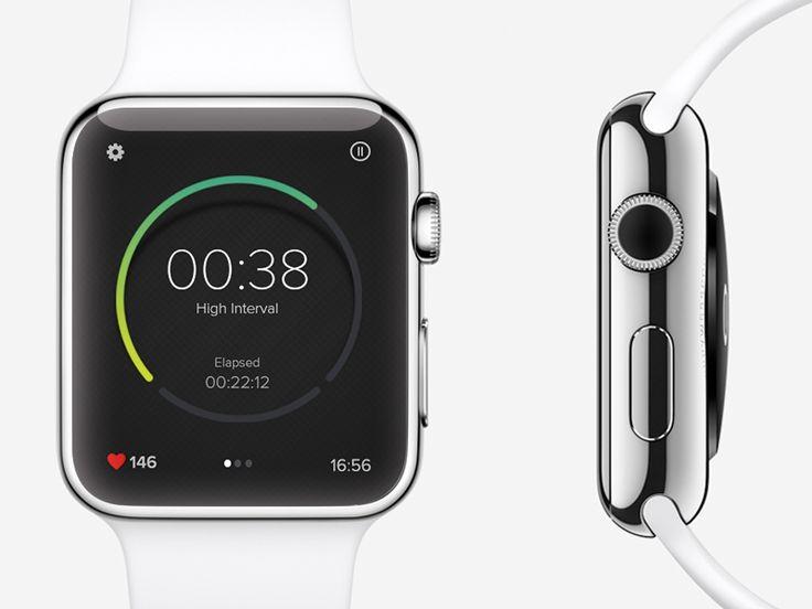30 Beautiful Apple Watch App & Concept Designs