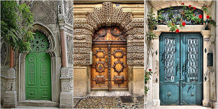 Удивительные двери