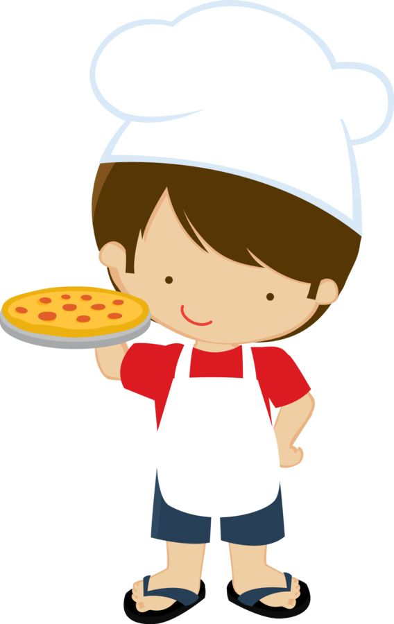 Cooking with Kids Clipart