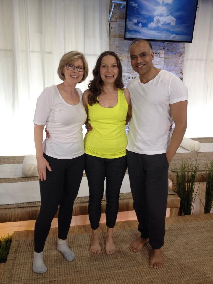 "Got to appear in two episodes of the show ""Healing Yoga"" on Vision TV and JoyTV in Canada"