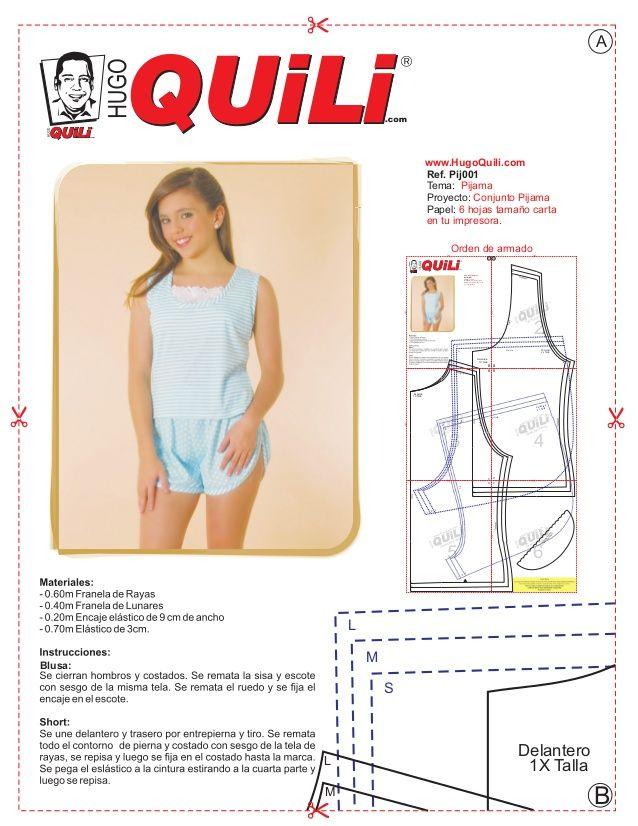 Pij Tema Pijama Proyecto Conjunto Pijama  Hojas Tamano Cartapapel En