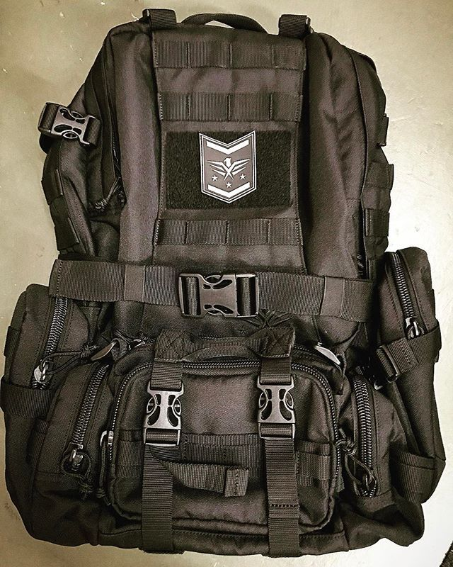 Shot of our Fight or Flight 72 Tactical Pack. Need to get some more patches. What's your favorite backpack patch? *** #fightorflightsurvivalgear #bugoutbag #Survivalist #prepper #preppers #survival #bugout #bushcraft #survivalcraft #urbansurvival #offgrid #shtf #preparedness #selfreliance #camping #donttreadonme #prepping #rewild #backpack #backpacks #backpackers #backpacking #backpackerstory