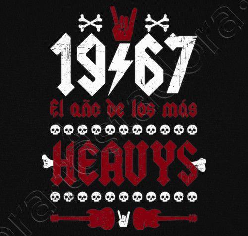 Camiseta 1967 Heavys. - nº 1284010 - Hombre, manga corta, negra, calidad extra. Sol's 190 gr/m2: 100 algodón semipeinado, 24/S hilo Ring Spun de calidad superior. Algodón preencogido. Tapacosturas reforzado en el cuello. Dise