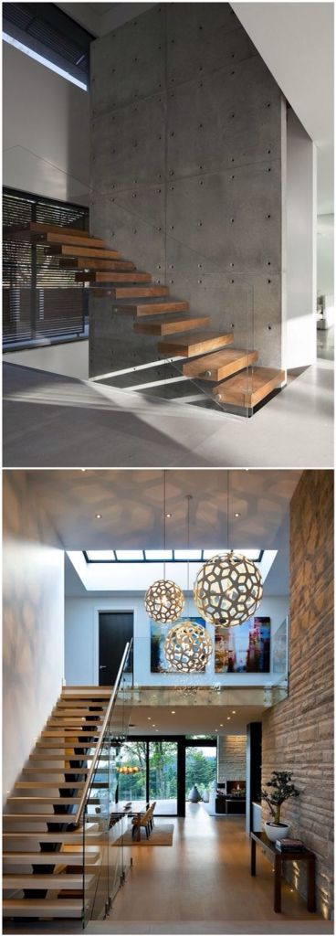 Lighting Basement Washroom Stairs: Best 25+ Glass Stairs Ideas On Pinterest
